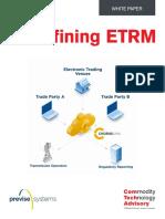 Redefining ETRM