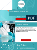 Global and China Fatty Acid Ester Market Insights, Forecast to 2026