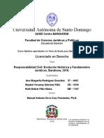 Responsabilidad Civil Evolución Histórica y Fundamentos Jurídicos. Barahona, 2018..docx