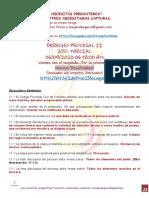 06-09-2020 Derecho Procesal II 2do. Parcial Rezagados