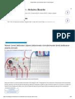 Simple Water Level Indicator Alarm Circuit Diagram 1