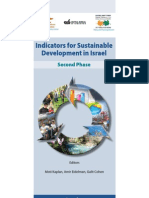 Indicators for Sustainable Development in Israel - Second Phase. 2009
