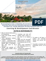 Job Flash - Training & Development Coordinator (1)