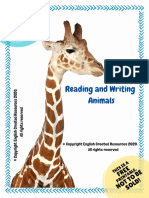 Reading Comprehension Animals Copyright English Created Resources. pdf