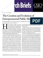 The Creation and Evolution of Entrepreneurial Public Markets