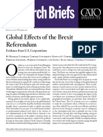 Global Effects of the Brexit Referendum