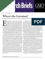 Where's the Greenium?