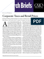 Corporate Taxes and Retail Prices
