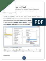 Formularios en Excel 2010