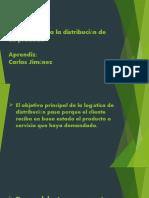 logistica  distribucion de un producto