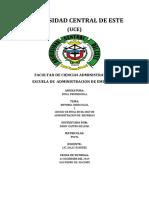 UNIVERSIDAD CENTRAL DE ESTE