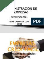 ADMINISTRACION DE EMPRESAS---CODIGO DE ETICA---DIORY CASTRO----89196