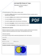 Matematicas 6. (Guia 2)