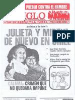 """""""El Siglo"""" - N° 7649 - segunda quincena de mayo de 1987"""