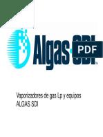 ALGAS SDI - Presentacion capacitacion