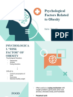 Psychological Factors Related to Obesity