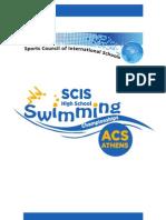 Swimming Program 17X24cm
