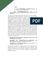 SU062-10 regimen de transicion
