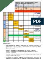 Calendariol Cº Provinciales Granada 2010-11-febrero