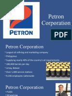 PETRON-CORPORATION SWOT