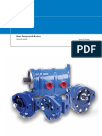 gear pump and motor