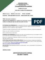 FORMATO TALLER METODOLOGÍA FLEXIBLE DE APRENDIZAJE 9.