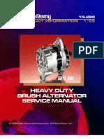 service manual delco remy cs 130 voltage rectifier rh scribd com Delco Remy Alternator Wiring Diagram Delco Remy Voltage Regulator Wiring Diagram