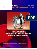HEAVY DUTY BRUSH ALTERNATOR SERVICE MANUAL