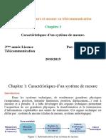 Capteur et mesure en Telecom chapitre1