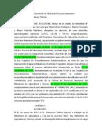 RECURSO DE RECONSIDERACION. LOPA