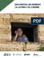 Desigualdad Digital de Genero IICA DIMR_doc