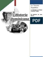 Historia Dominicana II - Trabajo Final