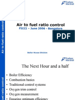 Air to fuel ratio control