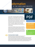 TRANSFORMATION OF THE VIDEOGAME INDUSTRY