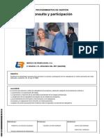 Procedimiento de Gestión Consulta y Participación