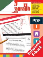 Daily Paragraph Editing, Grade 7 - 2837i