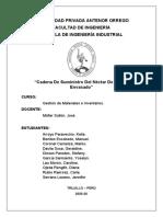 CADENA DE SUMINISTRO-NECTAR DE MANGO