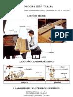 a zongora bemutatasa