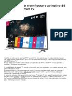 Como adicionar e configurar o aplicativo SS IPTV na sua Smart TV