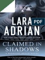 Lara Adrian - Midnight Breed 15 - Claimed in Shadows