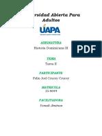 Historia Dominicana III - Tarea 2