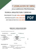 Arquitectura y Derecho 2017.ppt