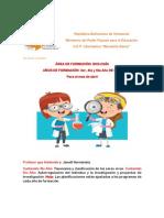 PLANIFICACIONES DE ACTIVIDADES PARA3ERO 4TO Y 5TO AÑO BIOLOGIA CIENCIAS DE LA TIERRA Y GRP
