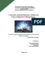 4. COMPENDIO DEL CURSO COMPLETO A DICTAR Taller audiovisual