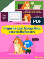 GUÍA TIPOGRÁFICA PICTOLINE