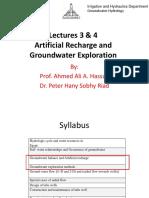 Lectures 3 & 4_GW Exploration