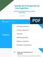 Nuevo Esquema Plan Gas - 2