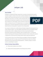 OneBudd Developer Job Description -1