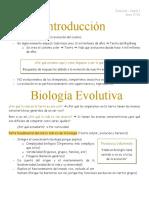 1. Introducción Biología Evolutiva