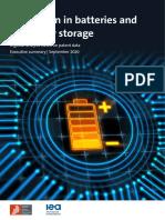 Battery Study - Executive Summary